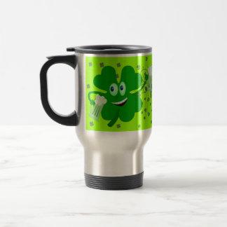 Funny St Patricks Day Travel Mug