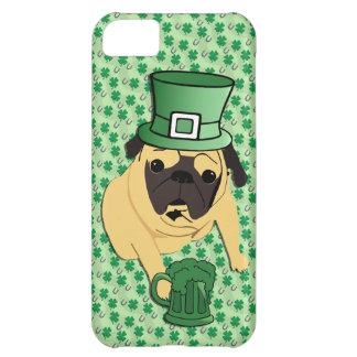 Funny St. Patrick's Irish Pug Case For iPhone 5C