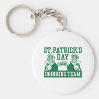 Funny St. Patricks's Day Keychain