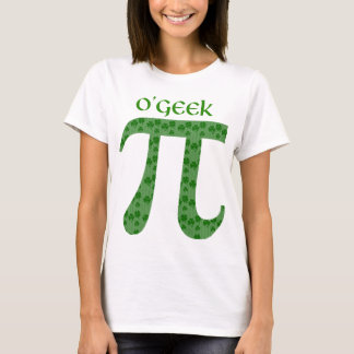Funny St. Pat's Day Pi Tees - O'Geek, McNerd