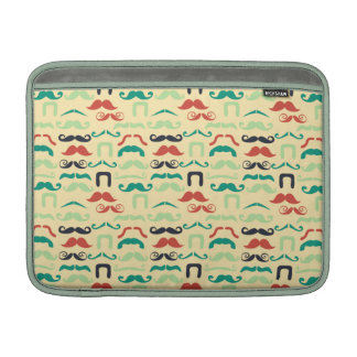 Funny stache MacBook air sleeve
