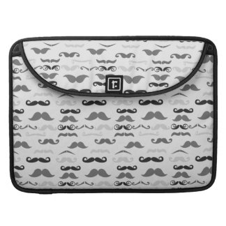 Funny Stache Sleeve For MacBook Pro