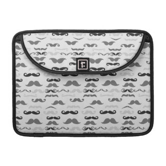 Funny Stache Sleeve For MacBooks