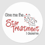 Funny Star Treatment Stickers