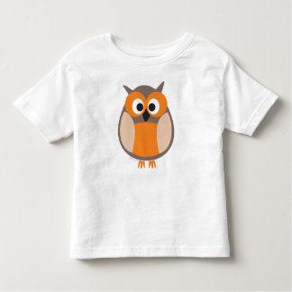 Funny staring owl t-shirt
