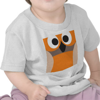 Funny staring owl shirts