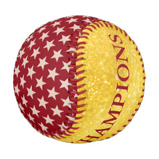 Funny Stars Pattern transparent + your back & idea Baseball