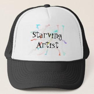 Funny Starving Artist / Halloween Costume Trucker Hat