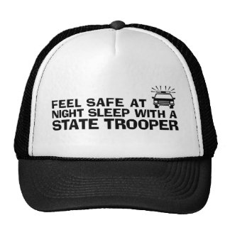 Funny State Trooper Mesh Hats
