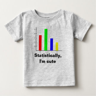 Funny Statistics Baby T-Shirt
