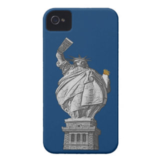 Funny statue of liberty iPhone 4 Case-Mate cases
