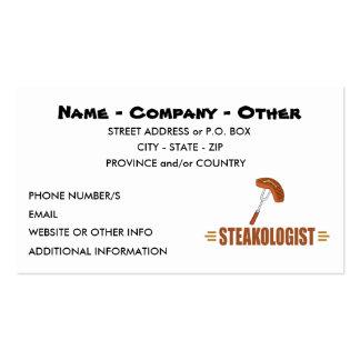 Funny Steak Business Card