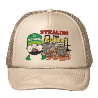 Funny Stealing for Scrap Hat