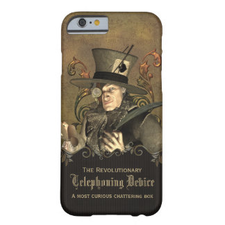 Funny Steampunk Mad Hatter Custom Barely There iPhone 6 Case