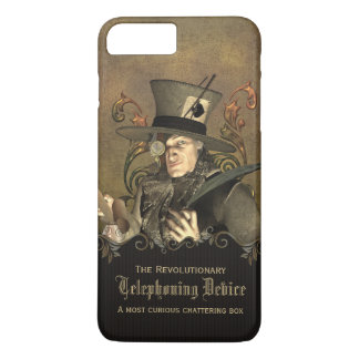 Funny Steampunk Mad Hatter Custom iPhone 7 Plus Case