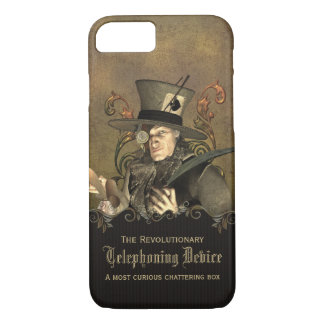 Funny Steampunk Mad Hatter iPhone 7 Case