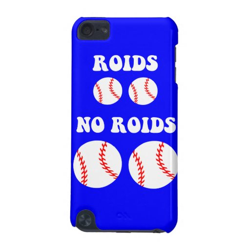funny steroids baseball iPod touch 5G cover