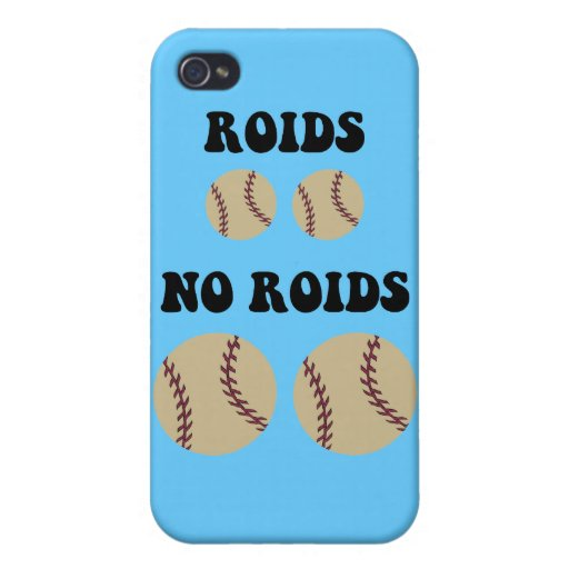 Funny steroids baseball covers for iPhone 4