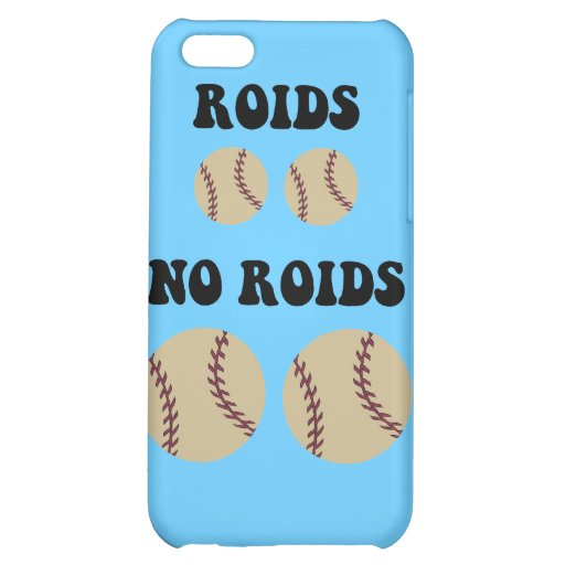 Funny steroids baseball iPhone 5C cases