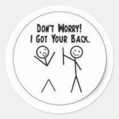 Funny Sticker at Zazzle
