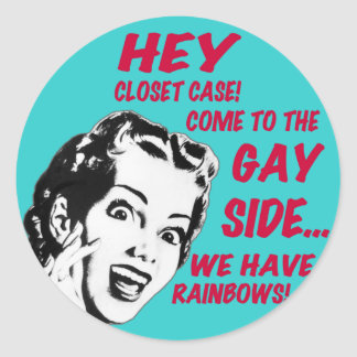 Funny Stickers - We Have Rainbows!