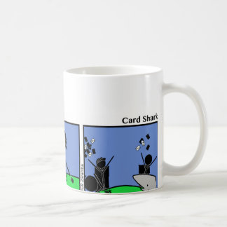 Funny Stickman Card Shark Mug