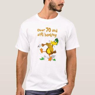 Funny Still Honking Customizable Duck Birthday T-Shirt