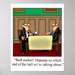 Funny Stock Market Humor Poster