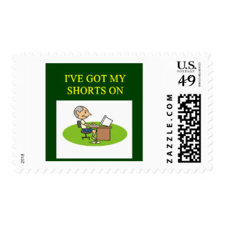 funny stock market joke postage