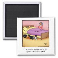 Funny Stocking Stuffer Golf Humor Magnet