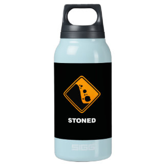 Funny Stoned Insulated Water Bottle