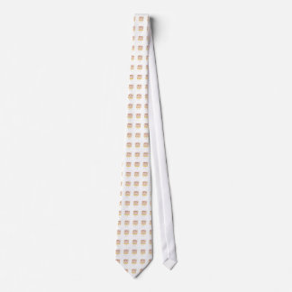 Funny Strawberry Cheesecake Quirky Cake Art Design Tie