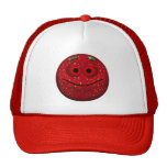 Funny Strawberry Smiley Hat