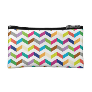 funny stripe cosmetic bag