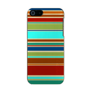 Funny Stripes colored XII + your background color Incipio Feather® Shine iPhone 5 Case