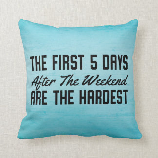 Funny Studen Dorm Office Throw Pillow
