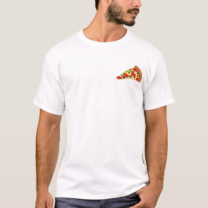 Funny Student Fueled By Pizza T-Shirt