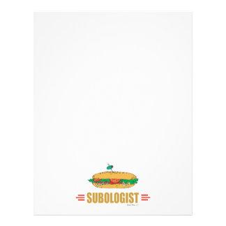 Funny Submarine Sandwich Flyer