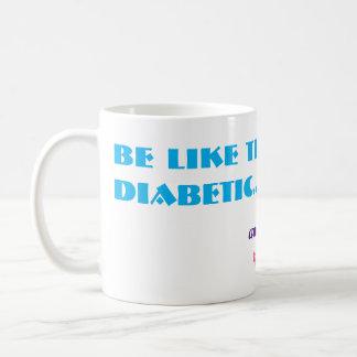 Funny Sugar Rollercoaster Diabetes Diabetic Joke Coffee Mug