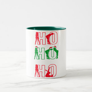 funny suggestive ho ho ho christmas mug design