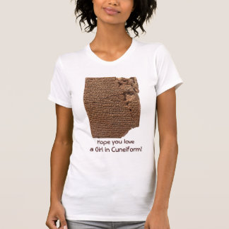 "Funny ""Sumerian Cuneiform Writing"" T-Shirts"