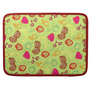 Funny Summer Doodle Pattern Sleeve For MacBooks