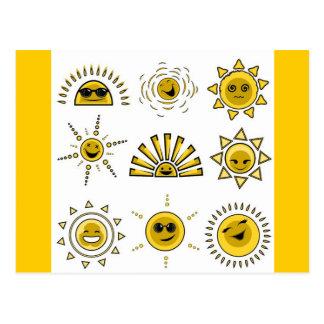 funny_sun2 postcard