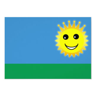 Funny sun card