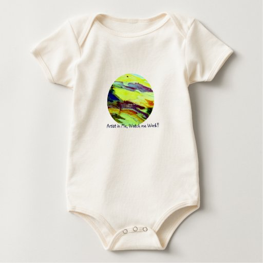 Funny Sun Faces, Abstract Art Baby Apparal Baby Bodysuit