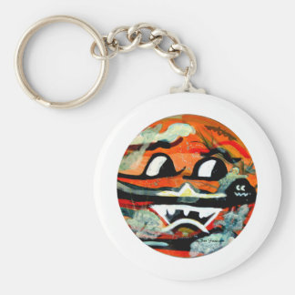 Funny Sun Faces Halloween Gifts Keychain