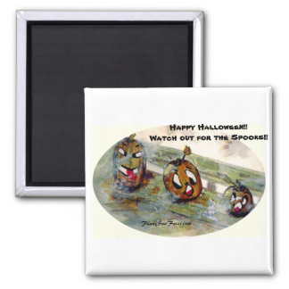 Funny Sun Faces Halloween Gifts Refrigerator Magnets