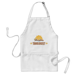 Funny Sun Tanning Adult Apron