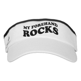Funny sun visor cap for tennis player and coach