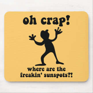 Funny sunspots mousepad